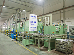 Grinding automatic line